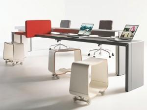 Mobilierul de birou evolueaza catre dinamism si o mai mare libertate de miscare pentru utilizatori