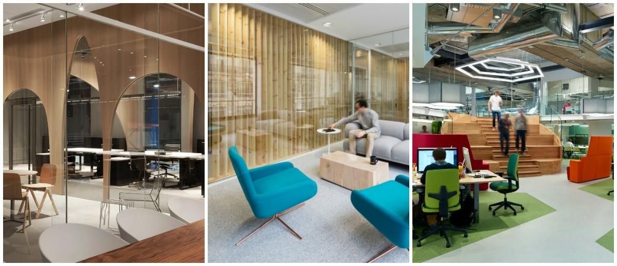 Hai să tragem cu ochiul la 3 noi sedii de birouri care ne plac